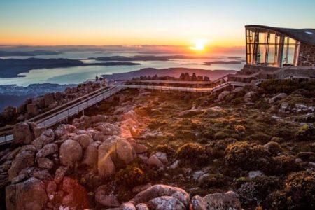 Sunrise from the summit of Mt.Wellington TAS