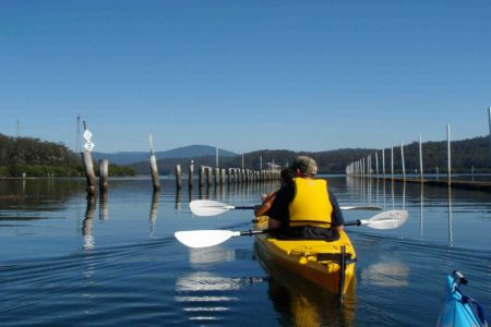 Canberra day tour kayak experience