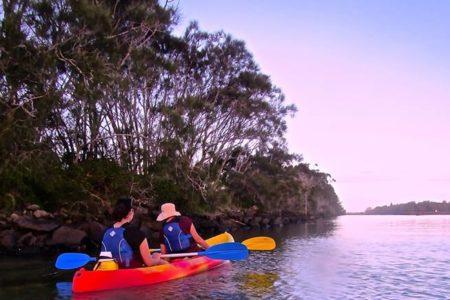 sunset_kayakers
