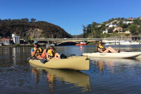 tamar river kayak TAS