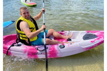 kayak pink