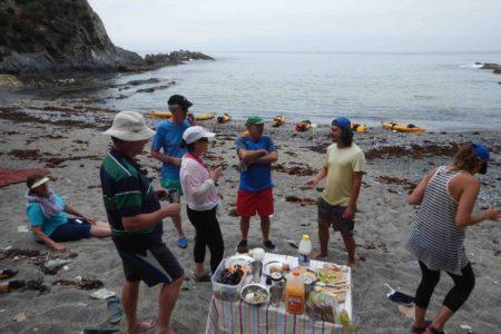 kayak tour camping