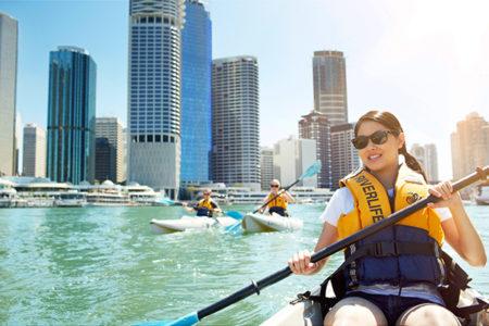 kayaking brisbane