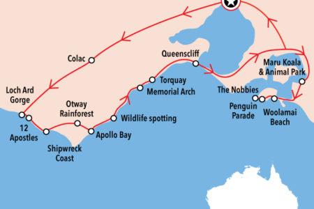 2 great ocean road and philip island