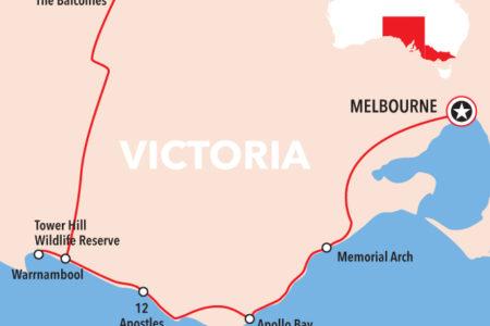 Adelaide to Melbourne 3 Day Tour