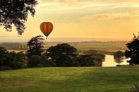 Ballooning over the Avon Valley