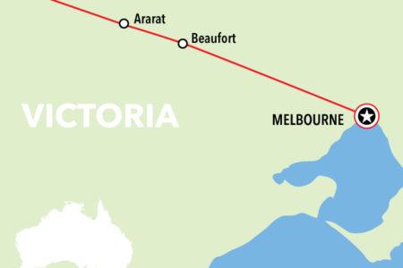 Grampians Map