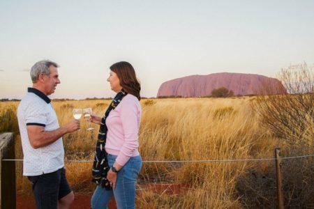 Uluru Sunset with BBQ Dinner
