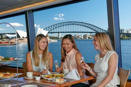 High Tea Cruise Window Seat